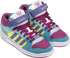the best attitude 087a1 90c49 adidas DECADE MID ST W Synthetic (Suededots textile) crystal  glory   dark purple