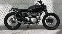 Triumph Bonneville Street Tracker by Mule Motorcycles