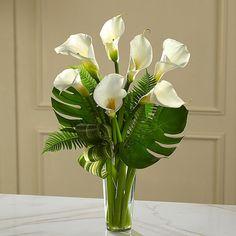 Risultati immagini per simple flower arrangements with lilies