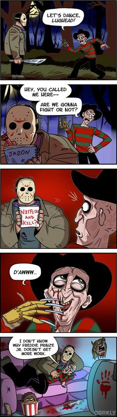 Ever Wondered How Jason and Freddy Netflix and Chill?