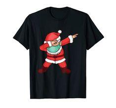 Tanzender Santa Claus - Dabbing Weihnachtsmann Weihnachten T-Shirt Dabbing Weinachtsmann Weihnachtsgeschenk Santa Halloween Shirt, Halloween Gifts, Halloween Costumes For Kids, Costumes For Women, Witch Meme, Scary Costumes, Shirts For Girls, Funny Shirts, Mens Tops