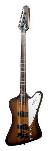 Gibson USA BAT14VSBC1 Thunderbird Bass 2014 4-String Bass Guitar – Vintage Sunburst $ 2,125.74 Bass Guitars Product Features The current Thunderbird 2014 Bass has Mahogany wings and a 9-ply multi laminate neck thru mahogany/walnut neck and is also 34″ scale length. The Fingerboard is Rosewood with dot inlays with the 120th Anniversary Logo on the .. http://www.guitarhomes.com/gibson-usa-bat14vsbc1-thunderbird-bass-2014-4-string-bass-guitar-vintage-sunburst-4/