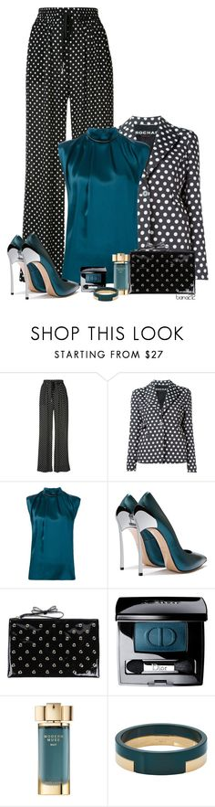 """""""Polka dots"""" by tiana212 ❤ liked on Polyvore featuring Zimmermann, Rochas, Lanvin, RED Valentino, Christian Dior and Marni"""