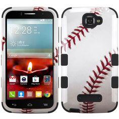 MYBAT TUFF Hybrid Alcatel One Touch Fierce 2 II Case - Baseball