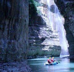 Canyons of river #Osum, #Skrapar, Albania