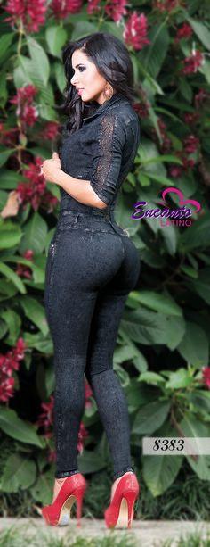 Enterizo Jeans Dama J08383