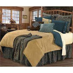 Bella Vista Comforter Western Bedding Set Super Queen