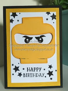 Stamp Ninja: Lego Ninjango Birthday Card
