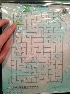For a really good -sensory- fine-motor -motor - control activity, take these materials: cheap shampoo with color, bead, large zip lock and a maze to the child's ability. Put the zip lock over the maze!   This activity is also very useful for a child who is just learning motor control to stay in spaces.