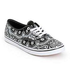 a8086df18b Vans Authentic Lo Pro Bandana Shoes (Womens) Fab Shoes