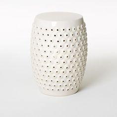Splurge vs. Steal: Ceramic Stool #westelm #wayfair