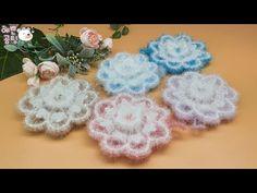 Crochet Square Patterns, Bubble, Crochet Earrings, Korean, Crochet Appliques, Amigurumi, Korean Language