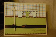 Welcome Baby Card by Miranda Matteson