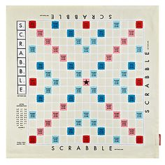 Buy Wild & Wolf Scrabble Tea Towel Online at johnlewis.com