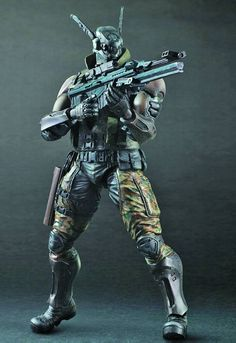 "Square Enix Play Arts -Kai- Briareos ""Appleseed Alpha"""
