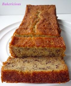 Soft and Moist Banana Cake Ingredients: ( for one 8″ x 3.5″ x 3″ & one 9″ x 4″ x 3″) 250g salted butter 1 1/2 cups castor sugar (I will reduce the sugar depending on what type of