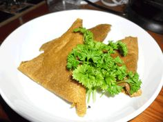 Spicy Raw Food Samosas