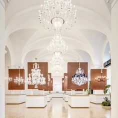 Our showroom is a delight of Bohemian crystal elegance - feel free to come and browse our beautiful lighting and glass collections. Prague Things To Do, Showroom Design, Crystal Decor, Glass Collection, Czech Glass, Chandelier, Bohemian, Ceiling Lights, Collections