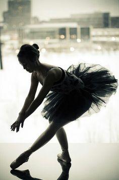 Black and White Ballet