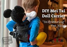 DIY Mini Mei Tai Carrier -