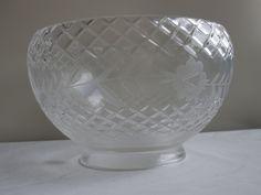 diamond cut leaded crystal glass shade SL76570