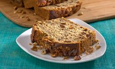 This classic walnut banana bread recipe was remade to feature ingredients that contain omega-3s: flax seed, canola oil, and heart-healthy walnuts!