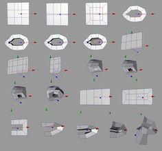 Guide on topology for modelers eye_nose_mouth. Maya Modeling, Surface Modeling, Modeling Tips, Character Modeling, 3d Character, Character Design, Zbrush Tutorial, 3d Tutorial, Blender 3d