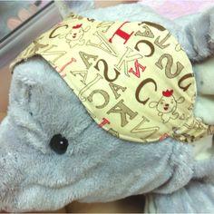 A cute matching sleeping mask on Mây :x