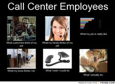 funny call center statuses | This one a friend posted on FB!