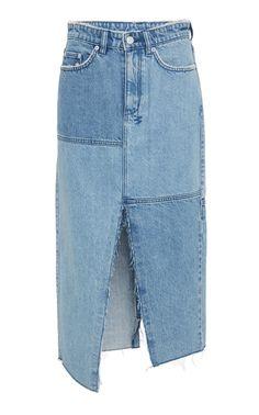 Pip Patchwork Skirt by KSUBI for Preorder on Moda Operandi