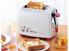 Hello Kitty Toaster  Official Sanrio character pop-up toaster