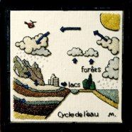 water cycle embroidery and other great themes