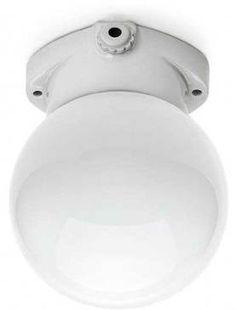 Scandilux ceiling light - opal glass globe, Scandilux ceiling lights - Holloways of Ludlow