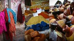 Colourful Souvenirs | Morocco has always been on my bucket list...