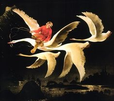 Russian Fairy Tales - The Magic Swan Geese