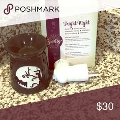 Gently Used Scentsy Fright Night Plug In Warmer Gently Used Scentsy Fright Night Plug In Scentsy Warmer Scentsy Accessories