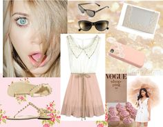 """Vanille"" by daria-vais ❤ liked on Polyvore"