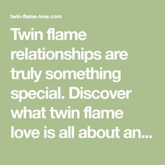 Twin flame relationships are truly something special. Discover what twin flame love is all about and find out how to master this challenging relationship.