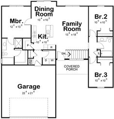See the that has 3 bedrooms and 2 full baths from House Plans and More. See amenities for Plan Lake House Plans, Garage House Plans, House Plans And More, Craftsman Style House Plans, Ranch House Plans, Best House Plans, Small House Plans, House Floor Plans, Car Garage
