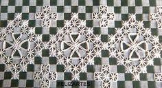 Bordado los pano xadrez POR Rosalind