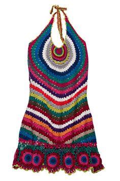 crochet dress - swim suit cover up