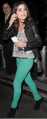 love Lucy Hale and her entire outfit!