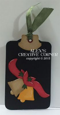 Alex's Creative Corner: Christmas in July Tags - Bells