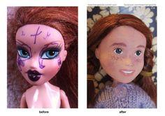 Elle restaure et démaquille les poupées - Le Baby Blog - Doctissimo