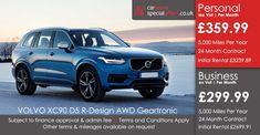 VOLVO XC90 DIESEL ESTATE  2.0 D5 PowerPulse R DESIGN 5dr AWD Geartronic