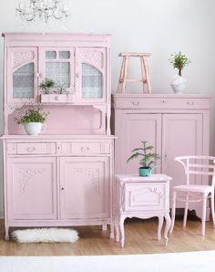 Shabby Chic und pastell Farben, romantische Möbel
