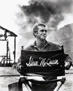 Steve McQueen. I wanted to be him when I was young. I admire and respect his memory now.
