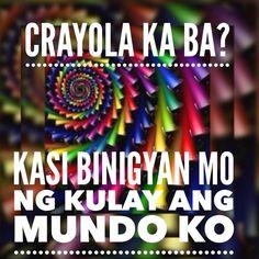 Tagalog Quotes Hugot Funny, Pinoy Quotes, Hugot Quotes, Filipino Pick Up Lines, Pick Up Lines Tagalog, Hugot Lines, Pickup Lines, Boyfriend Quotes, Parenting