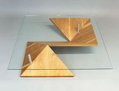 The Origami Coffee Table is Inspired by the Japanese Art Form #decor trendhunter.com