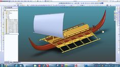 Brought up an old CAD model I made a long time ago of a Philippine Karakoa warship as I seen it in the book Barangay by William Henry Scott. Thinking of building a model using 3D printing and laser cutting.